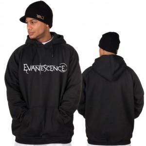 Hoodie Sweater Evanescence Hitam - Glory Cloth
