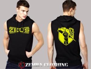Rompi Vest Hoodie Zeus Logo #1 - Zemba Clothing