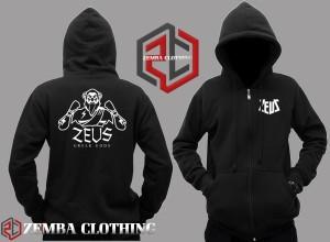 Hoodie Zipper Zeus - Zemba Clothing