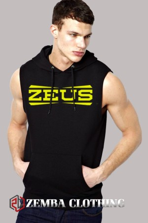 Rompi Vest Hoodie Zeus Logo #2 - Zemba Clothing