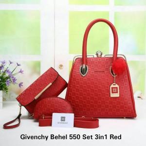 tas Givenchy Behel Set 3in1 Seri 550#vil