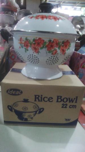 sangku nasi ideal ukuran 22 cm