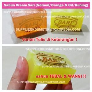SABUN CREAM SARI (OIL / NORMAL) Murah