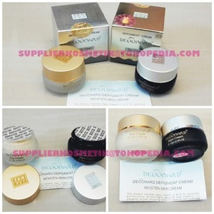 Cream DEOONARD Deonard GOLD & SILVER Set ( day&night cr Murah