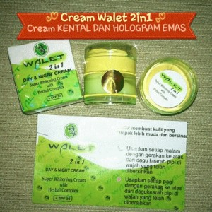 cream walet 2in1 (cream saja) Diskon