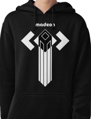 Sweater Hoodie Logo Madeon
