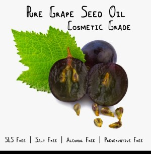 Pure GrapeSeed (Biji Anggur) Oil Minyak Carrier Murni 60ML Murah