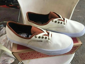 Vans Authentic Offwhite Brown