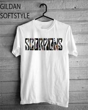 kaos Scorpions tshirt gildan Softstyle 2