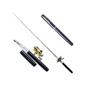 Alat Pancing Pena Pen Fishing Rod Set Tongkat Joran Portable Kit Ika
