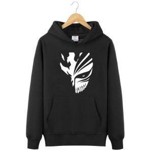 Jaket / Zipper / Hoodie / Sweater Bleach - Hitam