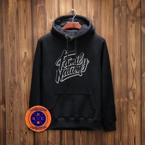 Hoodie family Nation - salsabila Clothing