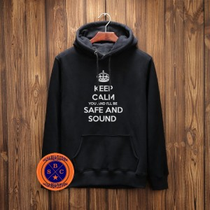 hoodie Safe And Sound - salsabila Clothing