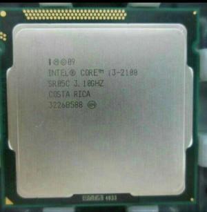 processor CORE i3 2100 + FAN (BARU)