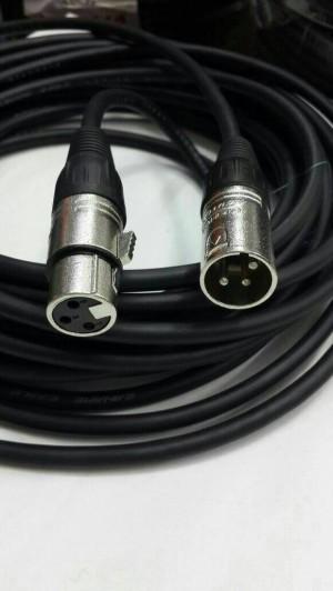 Kabel audio XLR 1 M, Canon Male to Canon Female Canare