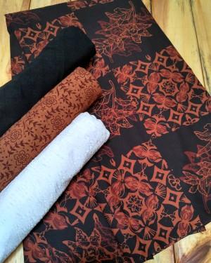 Kain batik Cap dan embos SB8-2