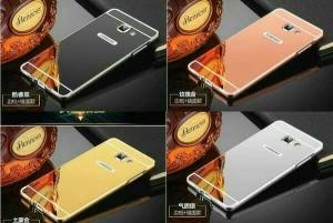 Metal Slide Bumper Mirror Hard Case Cover Casing Samsung Galaxy V G313