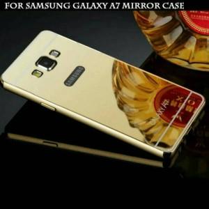 Metal Slide Bumper Mirror Hard Case Cover Casing Samsung Galaxy A7