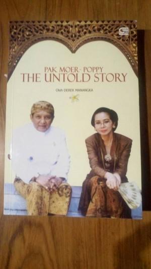 Pak Moer -The Untold Story (SC)(Soft Cover) olehDerek Manangka