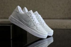 Sepatu Nike Air Force One Woman Full White Premium (PROMO)