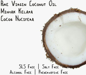 Pure Virgin Coconut (Kelapa) Oil Minyak Carrier Murni 120ML Murah