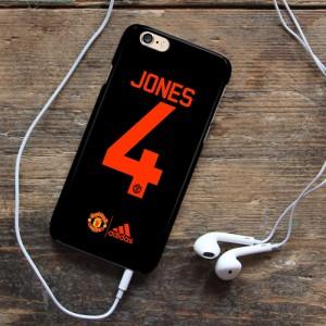 Manchester United Jersey Jones 4 Custom Case Xiaomi Note 3 Pro iPhone