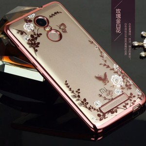 Silicone Flower Xiaomi Redmi note 3 / pro TPU soft back case cover