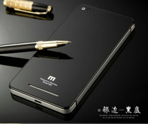 Casing Xiaomi Redmi 3 aluminium bumper tempered glass hard back case