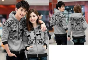 FG - [Couple Snowflake Abu LO] Couple Jaket Babyterry Abu