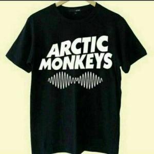 Kaos Pria Tshirt BIG SIZE XXXL ARTIC MONKEYS