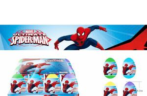 Mainan Anak | Egg Surprise Spiderman (1 set isi 4pcs)