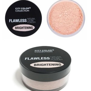 City Color Flawless Natural Loose Powder Brighteing - Light PINK