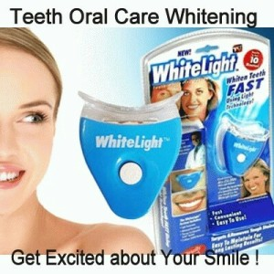 Pemutih gigi white light