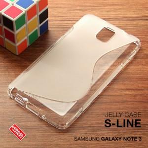 Samsung Galaxy Note 3 Soft Jelly Gel Silicon Silikon TPU bumper kondom