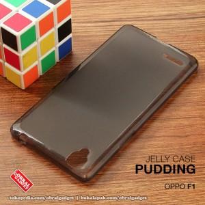 Oppo F1 Soft Gel Jelly Silicon Silikon TPU Case casinng bumper kondom