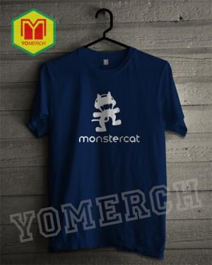Baju / Kaos MONSTER CAT simple keren (Must Buy) YOMERCH