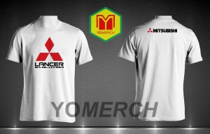 Baju / Kaos LANCER EVOLUTION simple keren (Must Buy) YOMERCH