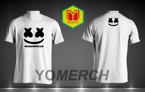 Baju / Kaos dj marshmello simple keren (Must Buy) YOMERCH