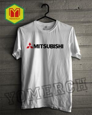 Baju / Kaos MITSUBISHI simple keren (Must Buy) YOMERCH