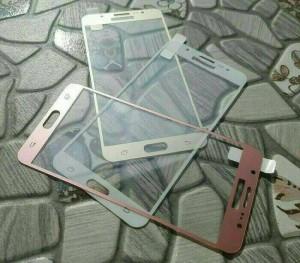 Samsung Galaxy J5 2016 Anti Gores Warna Tempered Glass Screen Guard