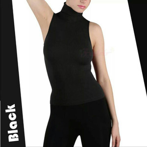 Turtleneck Tanktop Korean Fashion ..