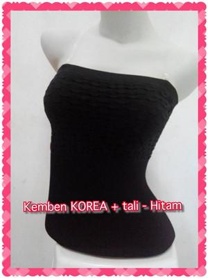 Kemben KOREA + Tali - Hitam ..