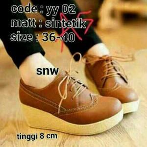 Sepatu Wanita Remaja 02-Tan