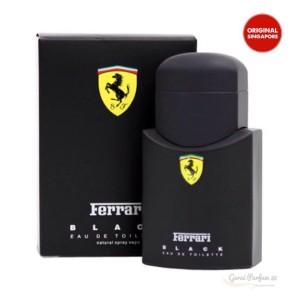 Parfum Ferrari Scuderia Black (man)-Original Singapore