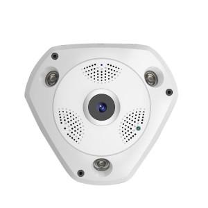 Kamera Pengintai 3D VR Cam Panorama 360 Fisheye 1.3MP