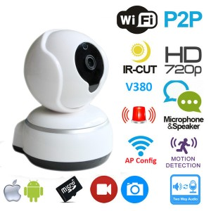 IP Camera Smart Wireless H 809 Security CCTV HD 1.0MP