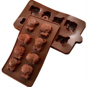 CETAKAN Singa/hippo/pooh(bisa u/ es puding permen candy cookies kue)