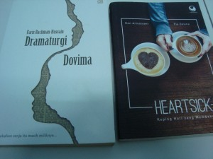 Novel Dramaturgi Dovima & Heartsick