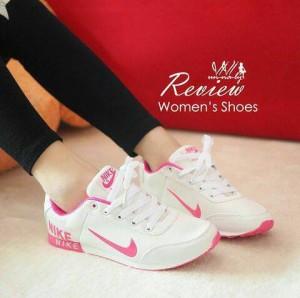 Grosir Sepatu Wanita Murah - Spon Nike Putih 08