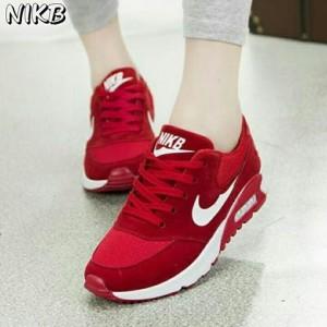 Grosir Sepatu Wanita Murah - Air Max Nike Merah